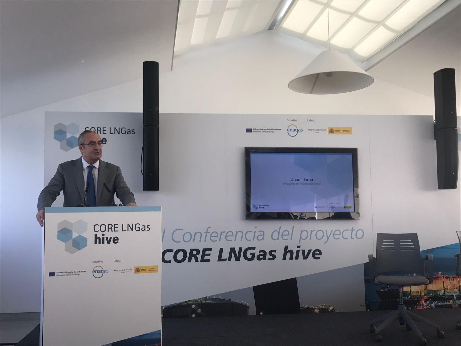 El proyecto CORE LNGas hive para el impulso del gas natural licuado como combustible en el transporte presenta sus últimos avances en Barcelona